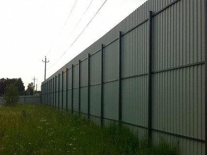 Какой может быть забор из профлиста в высоту?