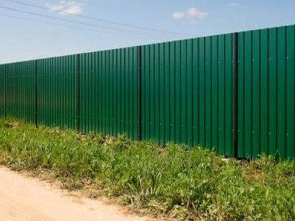 Предупреждающая табличка на забор из профлиста